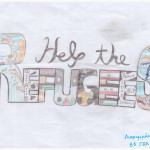 """Help the Refugees"" by Larion (Patras, Greece)"