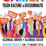 """Together Against Racism and Discrimination"" by Comite 21 Maart (Amsterdam, the Netherlands)"