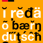 """I Also Speak Bern-German"" by Sarah von Rickenbach (Bern, Switzerland)"